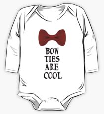Bow Ties Are Cool One Piece - Long Sleeve