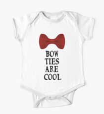 Bow Ties Are Cool One Piece - Short Sleeve