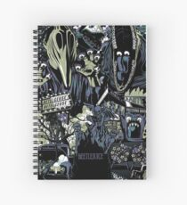 Beetlejuice - Adam & Barbara Spiral Notebook