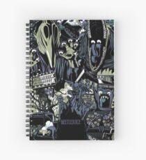 Beetlejuice - Adam & Barbara Spiral Notebook