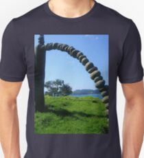 Section Of Rainbow Warrior Monument Unisex T-Shirt