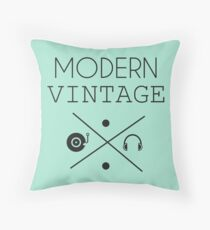 Modern Vintage #2 Throw Pillow
