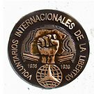 Bronze Memorial Plaque for the Volunteer International Brigade by Shulie1