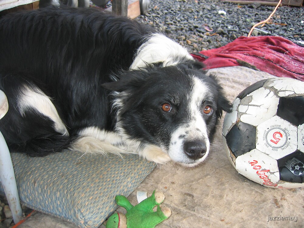 Sweet girl loves soccer too! by jazziemay