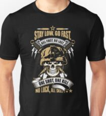 Awesome Soldier Quote Skull Artwork Unisex T-Shirt
