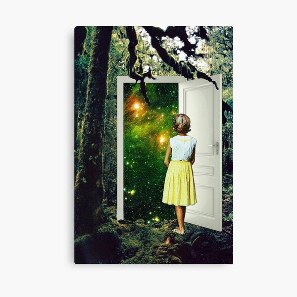 Portal in the Woods Canvas Print