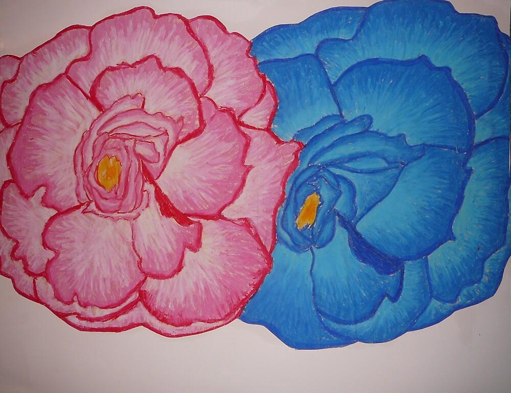 Bright Flowers by sara2442