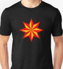 8 pointed star Unisex T-Shirt