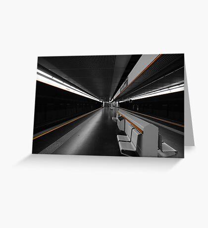 Deeper Underground Greeting Card