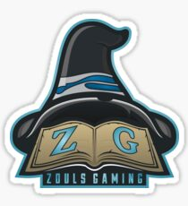 Zoulsgaming Wizard Logo Sticker