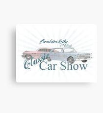 Boulder City classic car show  Canvas Print