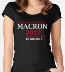 Macron 2017 Women's Fitted Scoop T-Shirt
