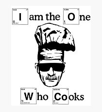 Heisenberg (I am the one who cook) Photographic Print