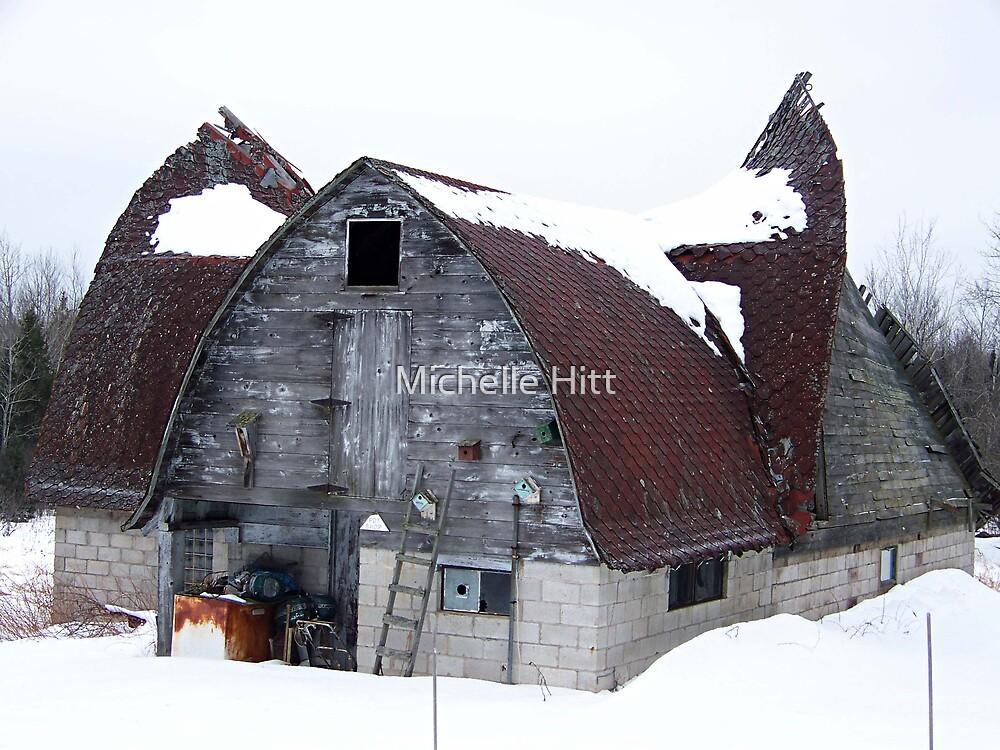 The Old Barn by Michelle Hitt