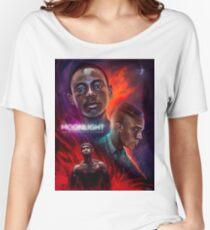 Moonlight - Movie Poster Women's Relaxed Fit T-Shirt
