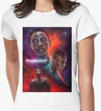 Moonlight - Movie Poster Womens Fitted T-Shirt