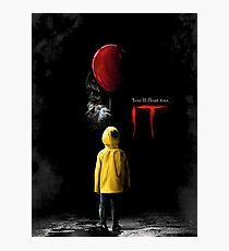 IT - Movie Poster 2017 Photographic Print