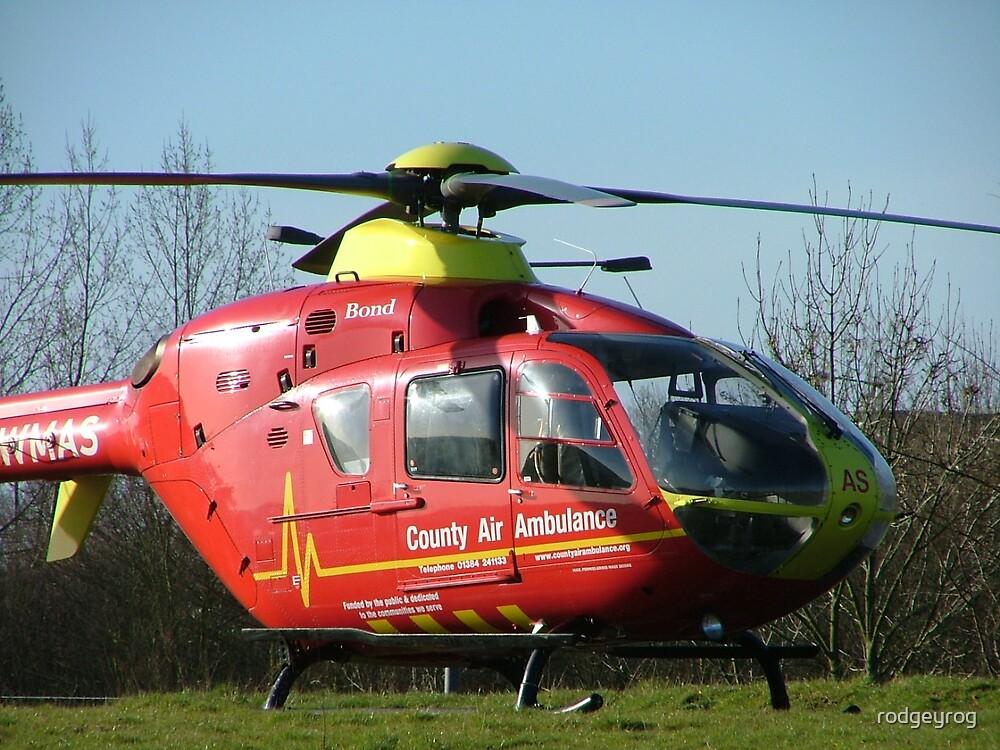 West Mids Air Ambulance by rodgeyrog