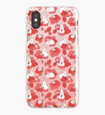 Strawbunny Delight iPhone Case/Skin