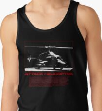 I Identify as an Attaack helicopter - Airwolf Edition Tank Top