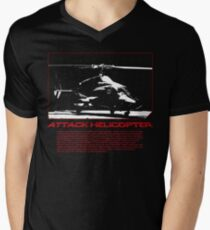 I Identify as an Attaack helicopter - Airwolf Edition Men's V-Neck T-Shirt