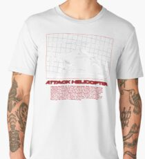 I Identify as an Attaack helicopter - Airwolf Edition Men's Premium T-Shirt
