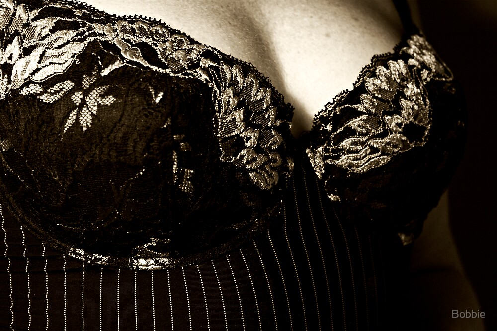 Pinstripes and Lace by Bobbie