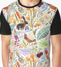 Vegetable Garden Party Graphic T-Shirt