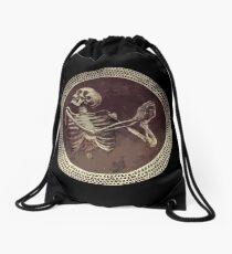 Mochila saco Hannibal: Dancing Skull + Skeleton Mosaic
