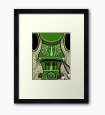 Armour of the Green Swords with Wings Framed Print