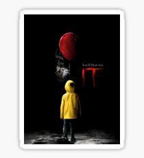 IT - Movie Poster 2017 Sticker