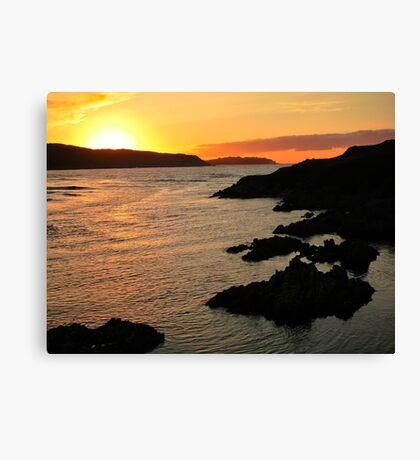 Torrisdale Bay Sunset Canvas Print