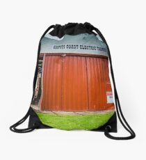 Kapiti Coast Electric Tramway Drawstring Bag