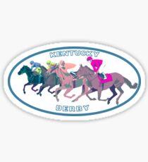 Kentucky Derby Sticker