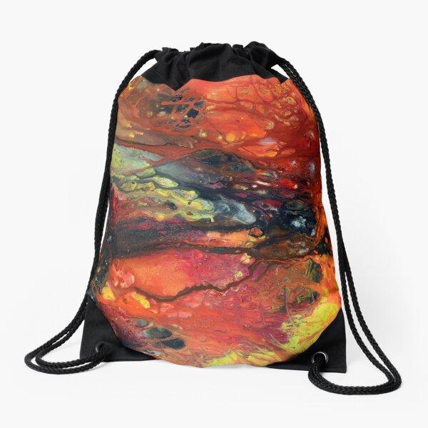 Burning Desire Drawstring Bag