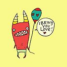 I Bring You Love by fishcakes