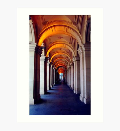 Corridor of Secrets Art Print