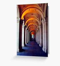 Corridor of Secrets Greeting Card