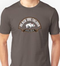 Black Hog Saloon Unisex T-Shirt