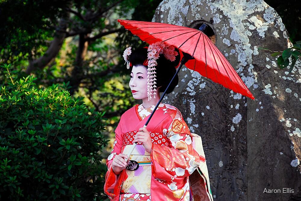 Gion Maiko by Aaron Ellis