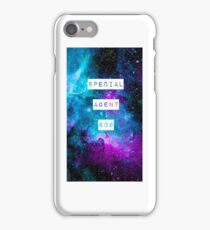 Special Agent 606 iPhone Case/Skin