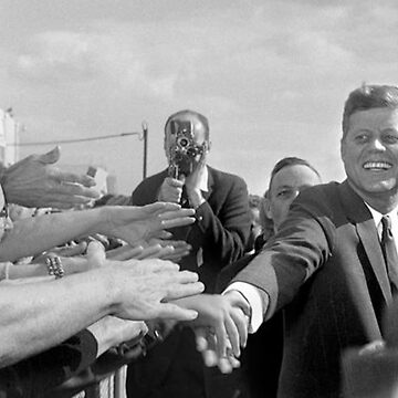 JFK Shaking Hands by ray-bolt