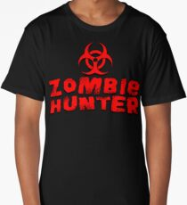 zombie hunter 4 Long T-Shirt
