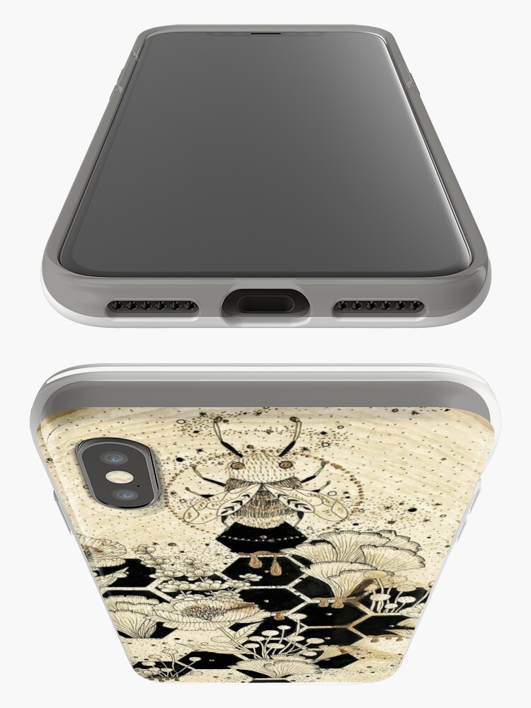 Alternate view of Space Bee iPhone Cases & Covers
