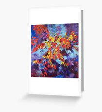 Autumn Pheonix Greeting Card