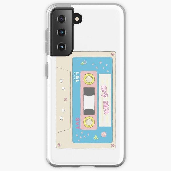 Cinta de cassette Aju Nice de diecisiete Funda blanda para Samsung Galaxy