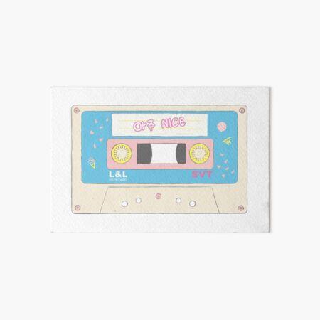 Cinta de cassette Aju Nice de diecisiete Lámina rígida