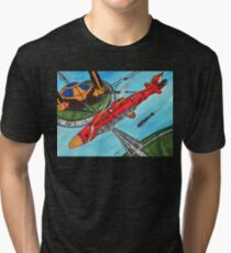 Freedom of the Skies Tri-blend T-Shirt