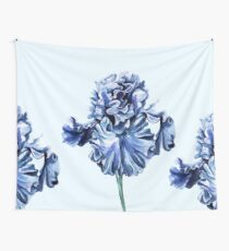 Dutch Iris - cornflower blue Wall Tapestry