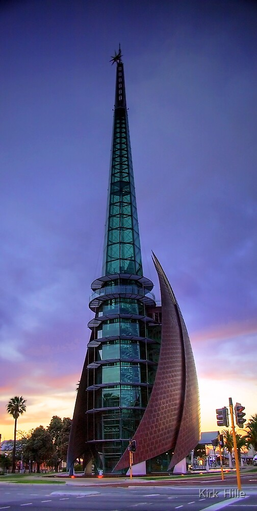 Perth Bell Tower Sunrise by Kirk  Hille